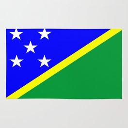 Solomon Islands country flag Rug