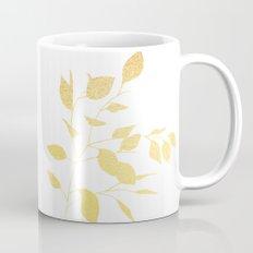 Leaves Gold Mug