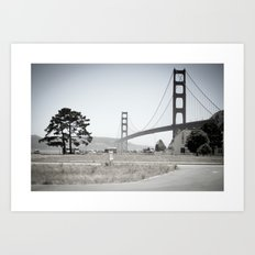 Golden Gate Bridge - San Francisco - EEUU  Art Print