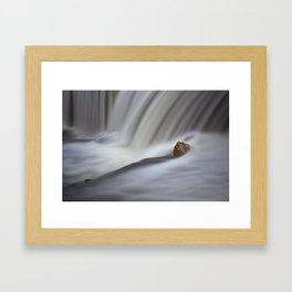 Waterfalls - Elora, Ontario Framed Art Print