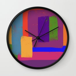 Let's Go Shopping Wall Clock
