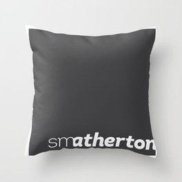 smatherton logo Throw Pillow