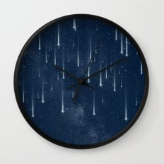 Wishing Stars Wall Clock