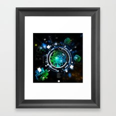Alien Life Framed Art Print