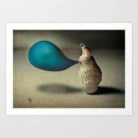 Baloonoholic Art Print