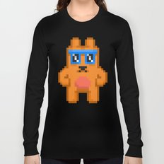 8Bit RaveBear Long Sleeve T-shirt