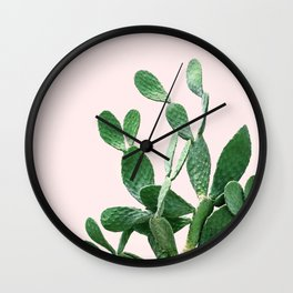 Cactus Opuntia Wall Clock