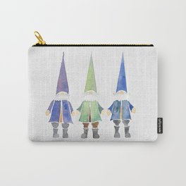 Three funny gnomes Carry-All Pouch