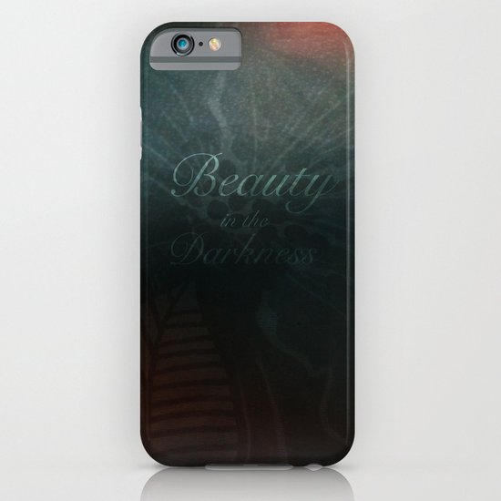 Beauty in the Darkness iPhone & iPod Case