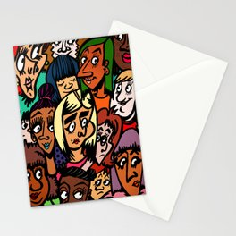 Faces of Women 2K15 Stationery Cards