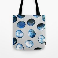mineral Tote Bags featuring mineral 03 by LEEMO