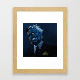 DENTED Framed Art Print