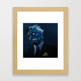DENTED Framed Art Print
