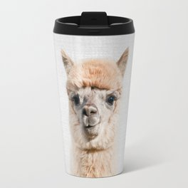 Alpaca - Colorful Travel Mug