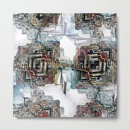 Saturday 30 March 2013: as useful as ducking puddles or jumping over rain. Metal Print