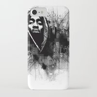 2pac iPhone & iPod Cases featuring 2Pac Illustration by Skillmatik by Mr Skillmatik