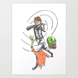 SS Art Print