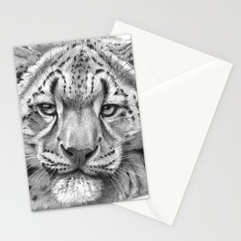 Snow Leopard Cub G105 Stationery Cards