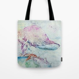Alien Cow Innoculates Earth Tote Bag