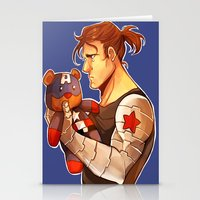 bucky Stationery Cards featuring Bucky by zombietonbo
