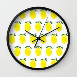 Fresh Squeeze Wall Clock