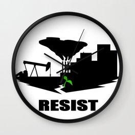 Resist #2 Wall Clock