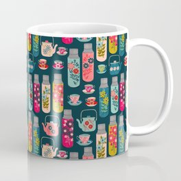 Vintage Thermos - Teacups and Teapots by Andrea Lauren Coffee Mug