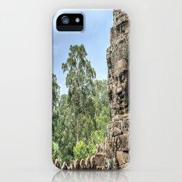 Bayon Temple, Angkor Thom, Cambodia iPhone Case