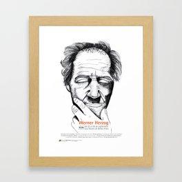 Herzog tribute Framed Art Print
