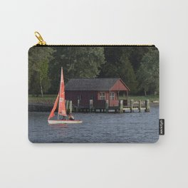 Boating on the Connecticut River Carry-All Pouch