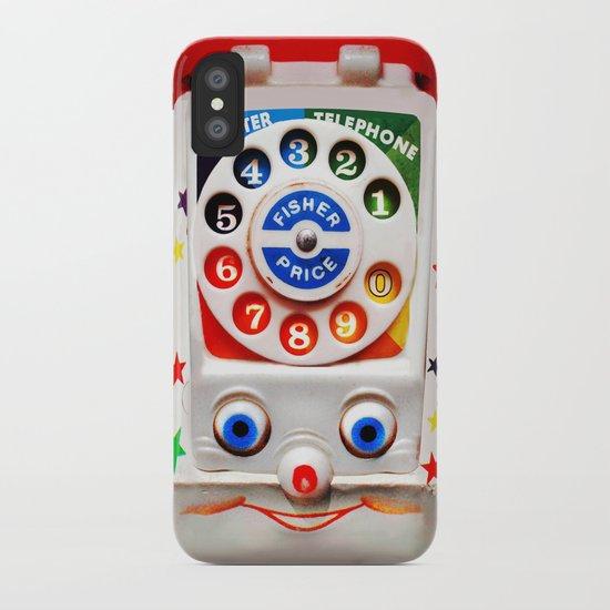 Ipod Pillow retro vintage smiley kids toys dial phone iphone 4 4s 5 5s 5c