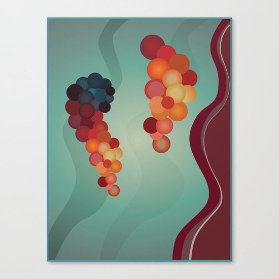 Digital Merlot 2 Canvas Print
