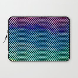 Rainbow Mermaid Tail Laptop Sleeve