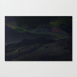 Hoth Northern Lights Canvas Print
