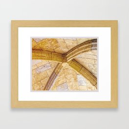 Color Theory, Yellow Framed Art Print