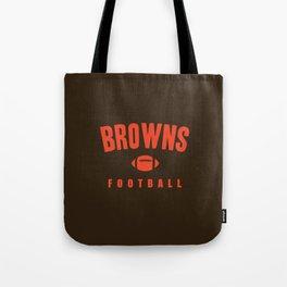Browns Football Tote Bag