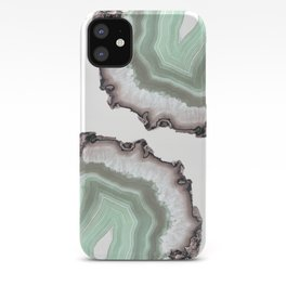 Light Water Agate iPhone Case