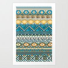 aztèques yoaz Art Print
