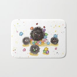 Hungry Soot Sprites  Bath Mat