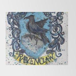 Ravenclaw Crest Throw Blanket