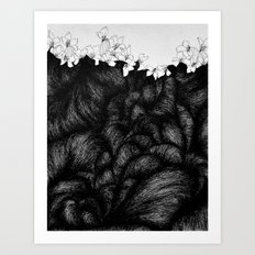 Sometimes the world is too big and I live underground 2 Art Print
