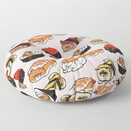 Sushi Persian Cat Floor Pillow