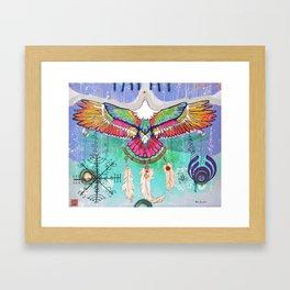 Flying Eagle Framed Art Print