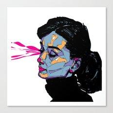 A. Hepburn Canvas Print
