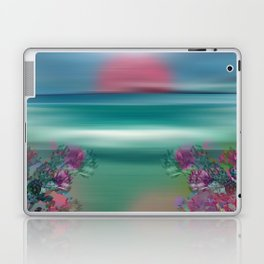 """Summer Beach Seascape"" Laptop & iPad Skin"