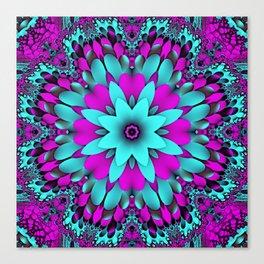 Flowering for You mandela Canvas Print