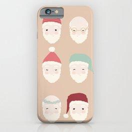 Santas - Mocha iPhone Case