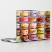 macarons Laptop & iPad Skins featuring French Macarons  by Laura Ruth