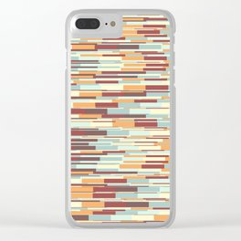 Abstract pattern 67 Clear iPhone Case