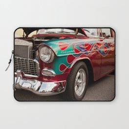 Flaming Chev Laptop Sleeve